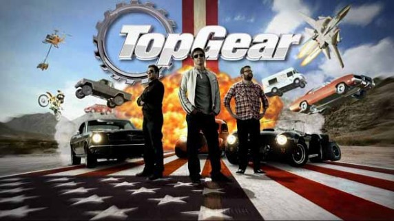 Топ Гир Америка 3 сезон 04 серия. На одном баке / Top Gear America USA (2013)